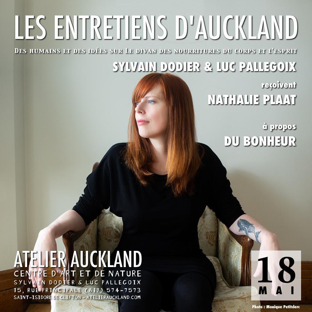 Les Entretiens - Nathalie Plaat