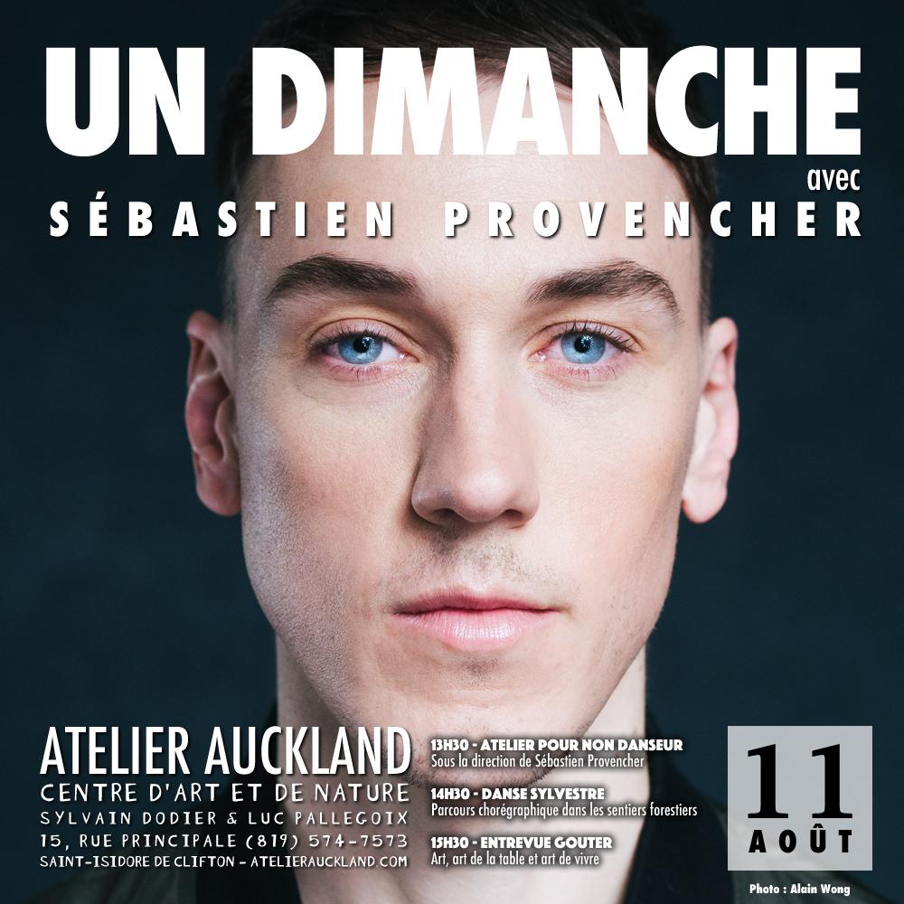 Un dimanche avec Sébastien Provencher