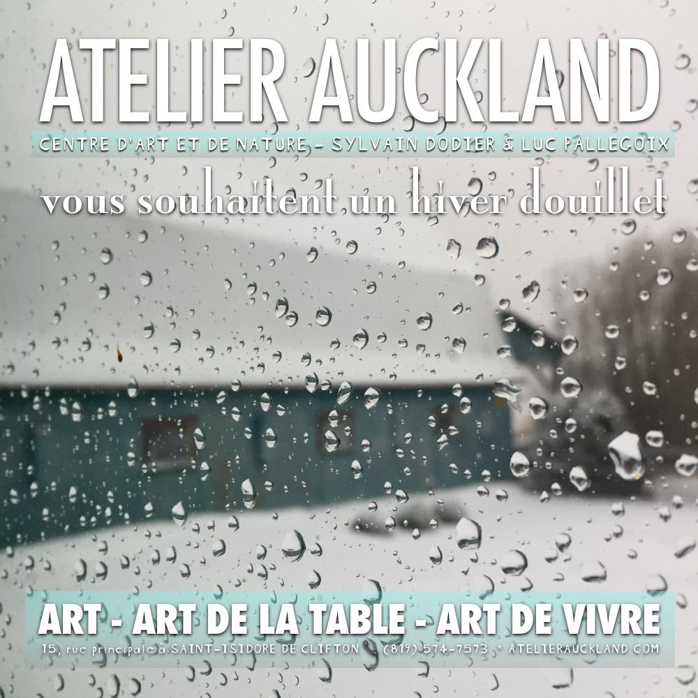 ATELIER AUCKLAND janvier 1